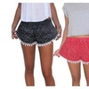 Summer Beach Shorts Pants Lady's High Waist Hot Pants