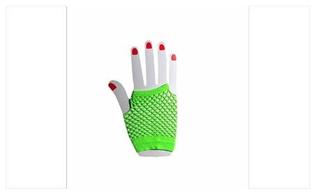 Women's Wrist Length Fingerless Fishnet Mesh Gloves c1037597-44fd-4b43-88dc-d9d798e26bdd