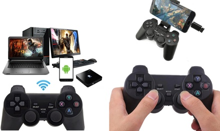 Wireless 2.4Ghz Gamepad And Controller For Xbox, PS3, PC And Android Phones