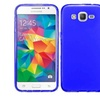 Insten Frosted Gel Case For Samsung Galaxy Grand Prime Blue