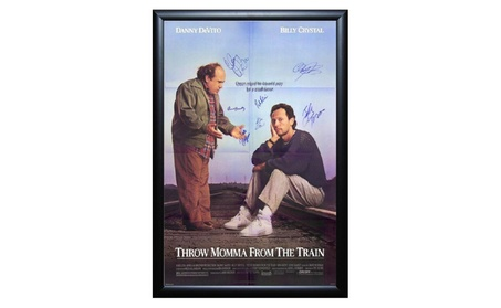 Throw Momma from the Train - Signed Movie Poster 3caaf5ad-2698-44cc-9a4b-27265d8f9e59