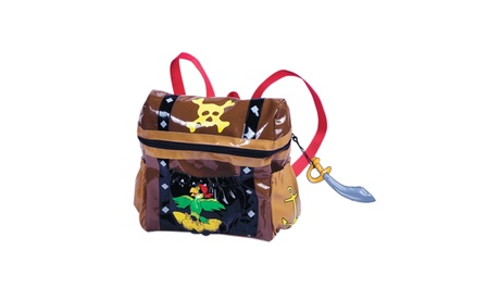 Kidorable Kids Toddler Pirate Backpack Brown 3d315644-1f7a-4a48-8a01-570124160bf2