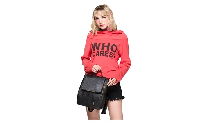 Women Backpack High Quality Leather Teenagers Girls  Backpacks