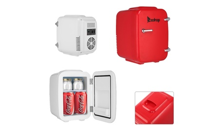 ZOKOP Mini Fridge 12V 5L AC/DC Portable Thermoelectric Cooler and Warmer photo