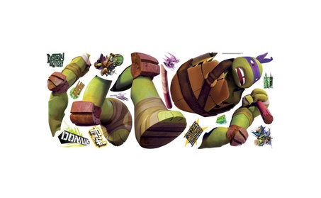Roommates Teenage Mutant Ninja Turtles Donatello Giant Wall DecaL 16dd5509-b40d-4b1e-ae59-404b75a49632