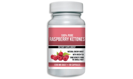 Pure Raspberry Ketones Extract Max Strength 1,200mg (Choose Your Size)
