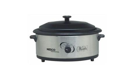 Metal Ware Corp. 4816-25PR Nesco 6qt Ss Roaster Oven photo