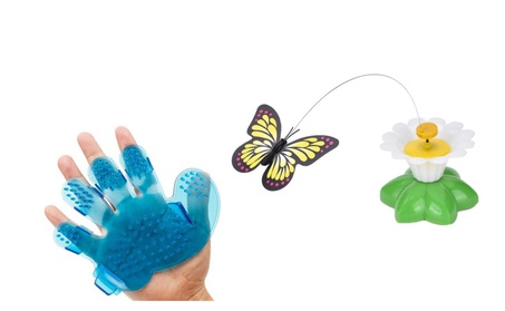 Electric Rotating Butterfly Cat Toys Cat Grooming Brush is Free c03ce29f-9c44-48b0-8091-7c7d7aea2048
