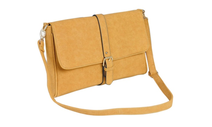 Women's Stitched Details Crossbody Bag