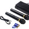 Superior Costwayl Wireless Microphone System Dual Handheld w/ 2 Mi