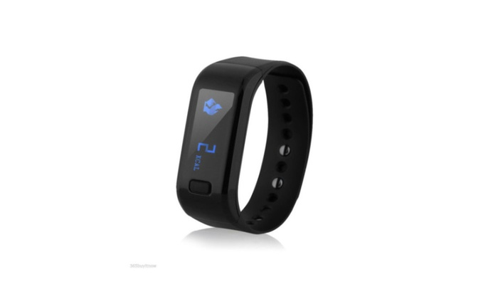 Exercise & Fitness Waterproof Smart Wrist Band