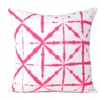 Shibori Style Designer Pillow Cover accent throw cushion Cover