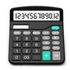 Portable Standard Function Business Desktop Calculator with 12-digit