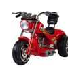 Bigtoyusa Mini Motos Red Hawk Motorcycle 12v