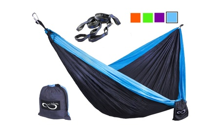 Double Outdoor Hammocks df332378-c165-4823-a692-bb8f1a595bfe