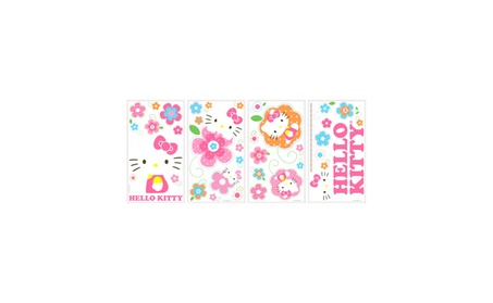Roommates Decor Hello Kitty Floral Boutique Wall Decals be5e7bf9-fa75-4c7e-9fd2-46fec8d0b071