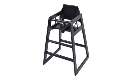 Baby High Chair Wooden Stool Feeding Children Toddler Restautant c1c4c038-38f7-4dca-babb-aab8bfd7d082