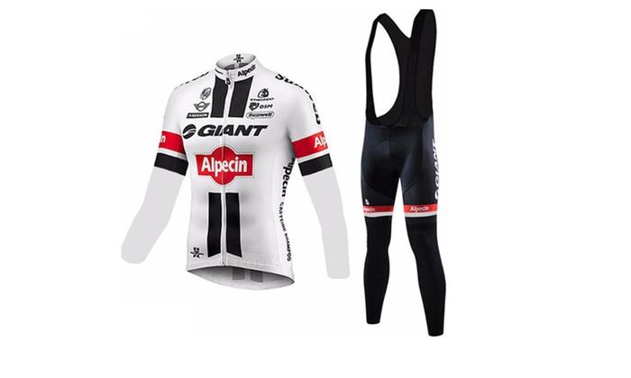 GIANT Cycling Long Sleeve Jersey Cycling Clothing Bike Jersey