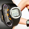 Six-in-one Sports Watch with Built-In Heart Rate Monitor