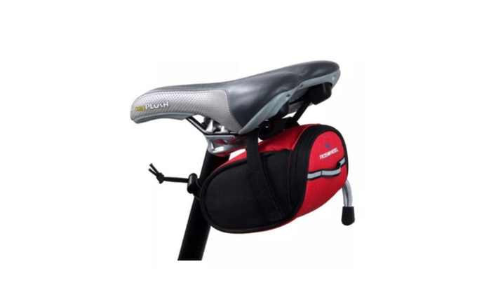 Outdoor Bike Bicycle Cycling Saddle Pouch Back Rear Seat Bag Portable
