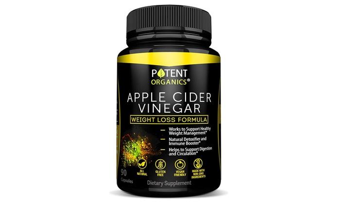 Organic Apple Cider Vinegar 90 Capsules For Healthy Diet