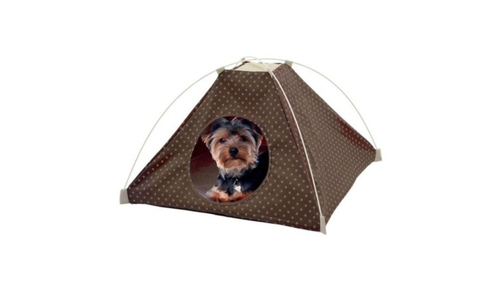 Popup Pet Tent u2013Outdoor Dog Bed u2013 Portable Cat Tent Bed  sc 1 st  Groupon & Popup Pet Tent u2013Outdoor Dog Bed u2013 Portable Cat Tent Bed | Groupon