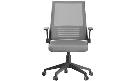 Gaming Chair Ergonomic Headrest PU Leather Swivel Chair