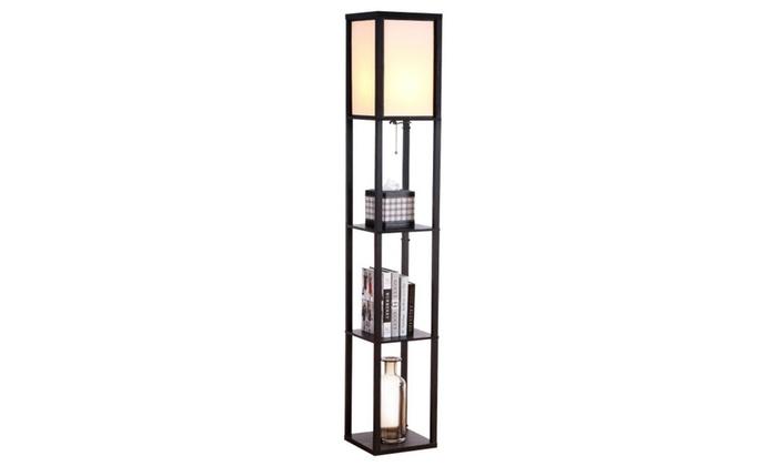 Alexa Compatible Led Shelf Floor Lamp