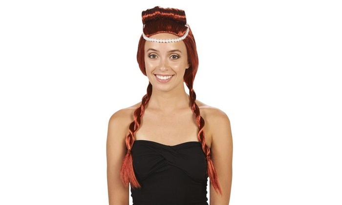 Red Archaic Adult Wig