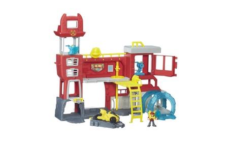 Playskool Heroes Transformers Rescue Bots Griffin Rock Firehouse B5210 7a0da8d8-8f15-4da8-9ba3-6bfed5d5c777