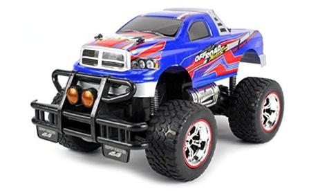 V-Thunder Pickup RC Truck Big 1:14 Lights & Music Series RTR(Colors May Vary) b2007a4d-3abe-411e-8b2a-de5aaeff07a3