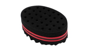 Hair Sponge Brush Double Sided For Twists Coils Curls in Afro Style
