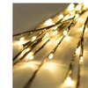 """Lighted Everlasting Glow 2 x Branches 39"""" Bendable Brown 60 Led Batter"""
