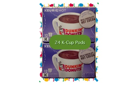 Dunkin Donuts Hot Cocoa K-Cup Pods for Keurig Brewers (24 count) c4957c36-b8e6-437a-9d87-dc531fb16889