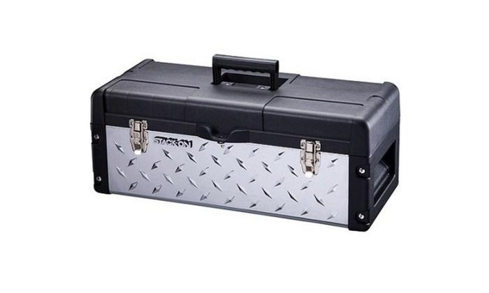 Stack-On Professional 26  Galvanized Plastic Tread Plate Tool ...  sc 1 st  Groupon & Stack-On Professional 26