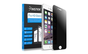 Insten PRIVACY Tempered Glass Screen Protector for iPhone 7 & 7 Plus at eForCity, plus 6.0% Cash Back from Ebates.