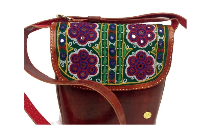 31e10d549889 Large Leather Hobo Sling Bag with built in wallet from Grizzly Creek