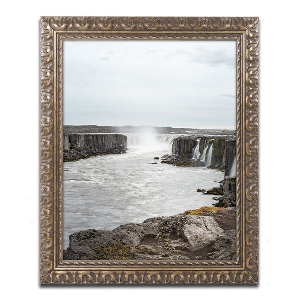 Philippe Sainte Laudy Dettifoss Ornate Framed Art Groupon