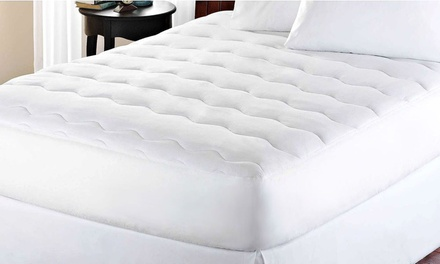 Kathy Ireland Essentials Waterproof Mattress Pad