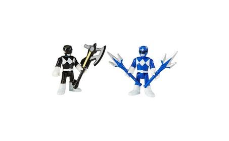 Fisher-Price Imaginext Power Rangers Blue Ranger & Black Ranger Figure 24b979a7-0a4c-44fd-a2fc-4ea96b5f54a6