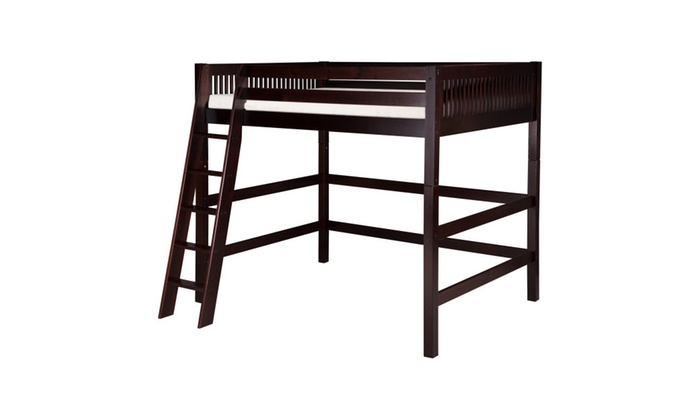 Furniture Of America Bowery Bookcase Twin Loft Bed  Espresso | Groupon