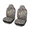 Front Camo Seat Covers - High Back Pro Camouflage for Cars Trucks SUVs