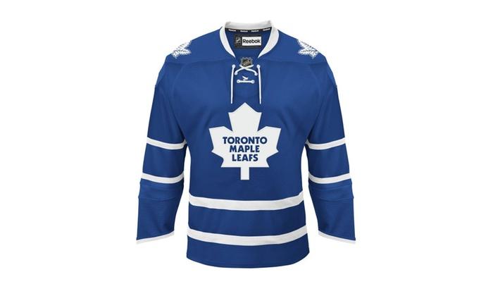 345cb020 Toronto Maple Leafs Reebok Edge Authentic Home Nhl Hockey Jersey ...