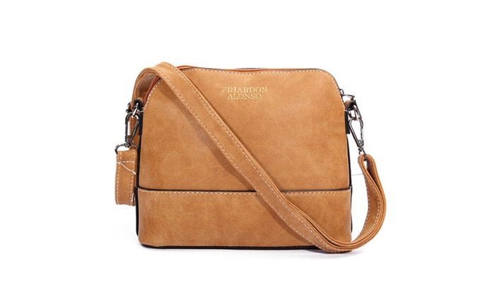 0578c1c2c49 Women Nubuck Shell Vintage Shoulder Bags Crossbody Bags Messenger Bags ...