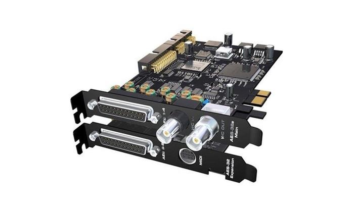 RME Audio RME-HDSPE-AES 24 Bit & 192 kHz 32-Channel AES & EBU PCI Express  Card