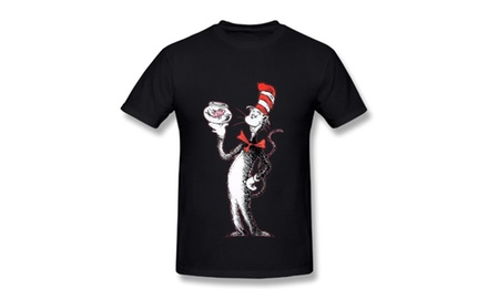 7013cc2e8d7 Amazon.com  Dr. Seuss One Fish Two Fish Light Cyan Juniors T-shirt Tee ( Juniors Small)  Clothing