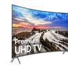 "Samsung 850D Series Curved 55"" or 65"" 4K Ultra HD Smart TV (Refurb.)"