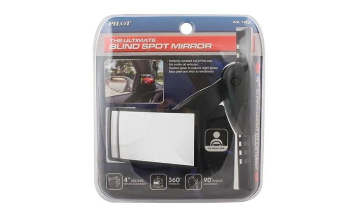 Adjustable Pillar Mount Blind Spot Mirror Groupon