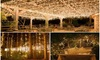 Solar Powered Fairy Lights with 100 LED Blubs - 6 Colors
