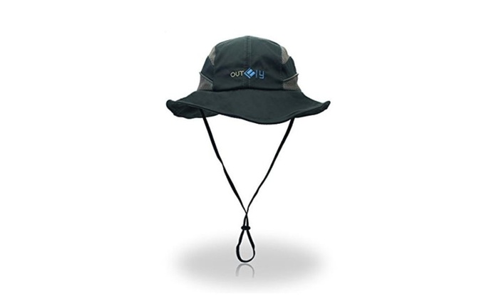 Brim Sun Blocking Outdoor Fishing Hat with Reflective Strip
